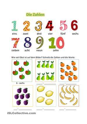 Zahlen kennenlernen