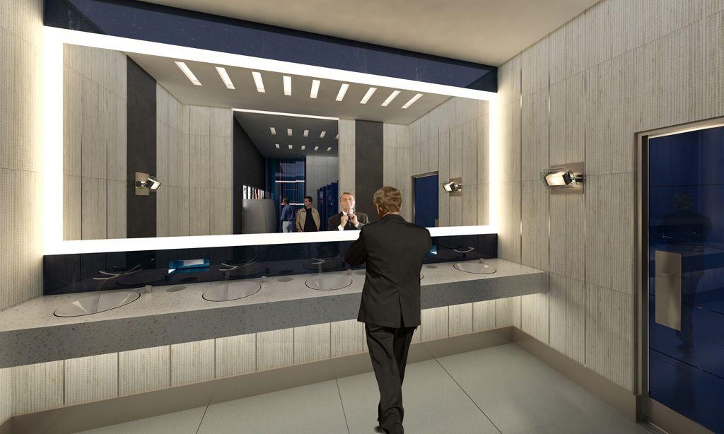 Commercial Restroom Design Modern Public Restroom Design ...