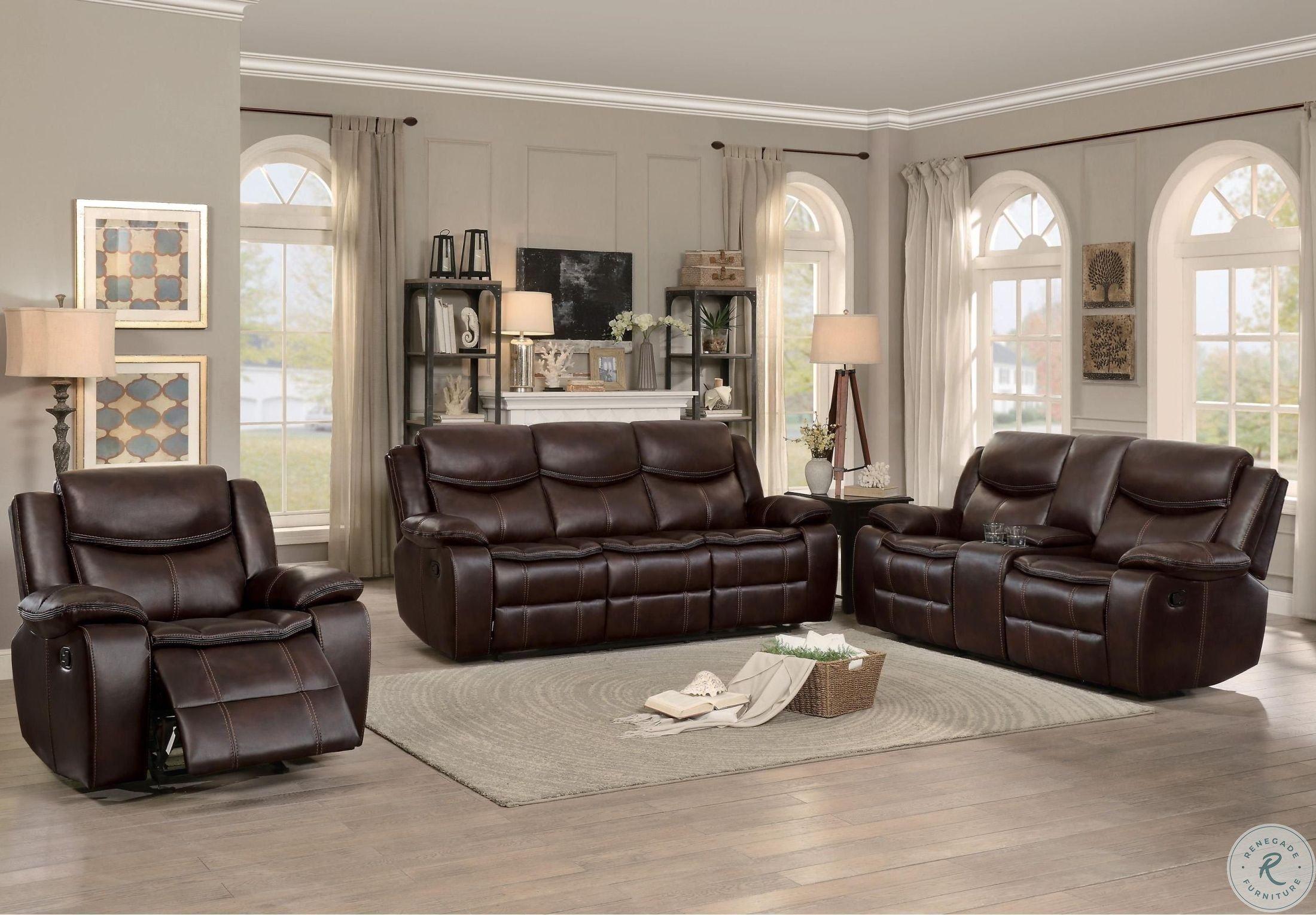 Bastrop Dark Brown Reclining Living Room Set In 2020 Brown Leather Couch Living Room Leather Couches Living Room Brown Furniture Living Room #warnerton #chocolate #power #reclining #living #room #set