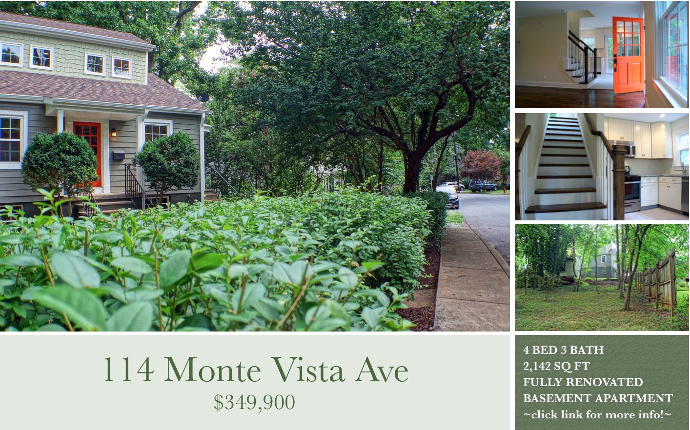 Newly Remodeled From Head To Toe This Cute City Cottage Is Ready For A New Owner This Wonderfully Updated 3 Bed Real Estate Monte Vista Real Estate Marketing
