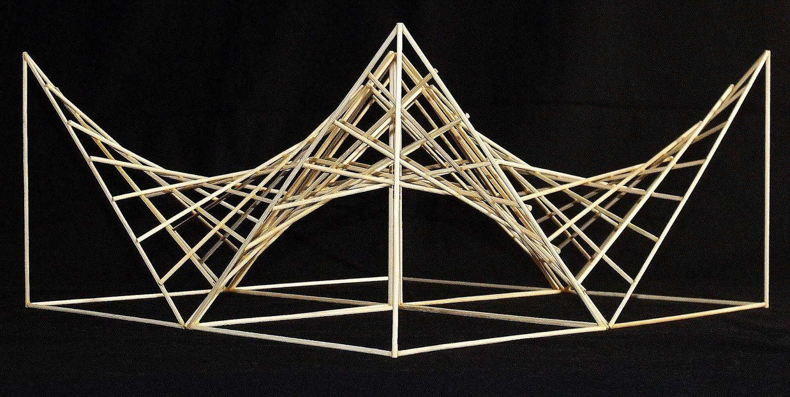 Paraboloide Hiperbolico Paraboloid T Architecture