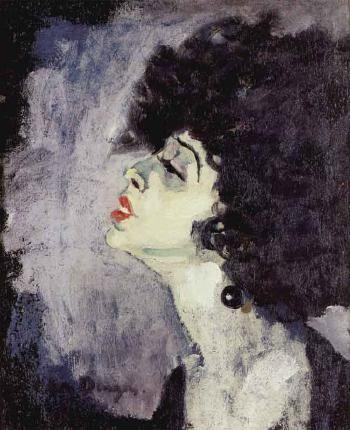 KEES VAN DONGEN - Chanteuse 1908