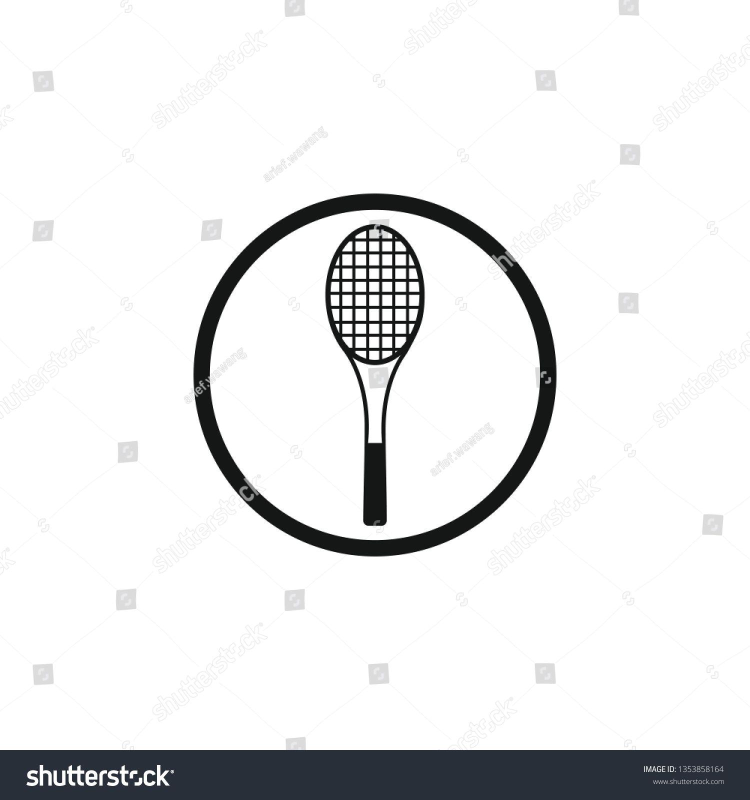 Racket Tennis Icon Symbol Ad Affiliate Tennis Racket Symbol Icon Art Drawings Tennis Australia Tennis Tennis Racket