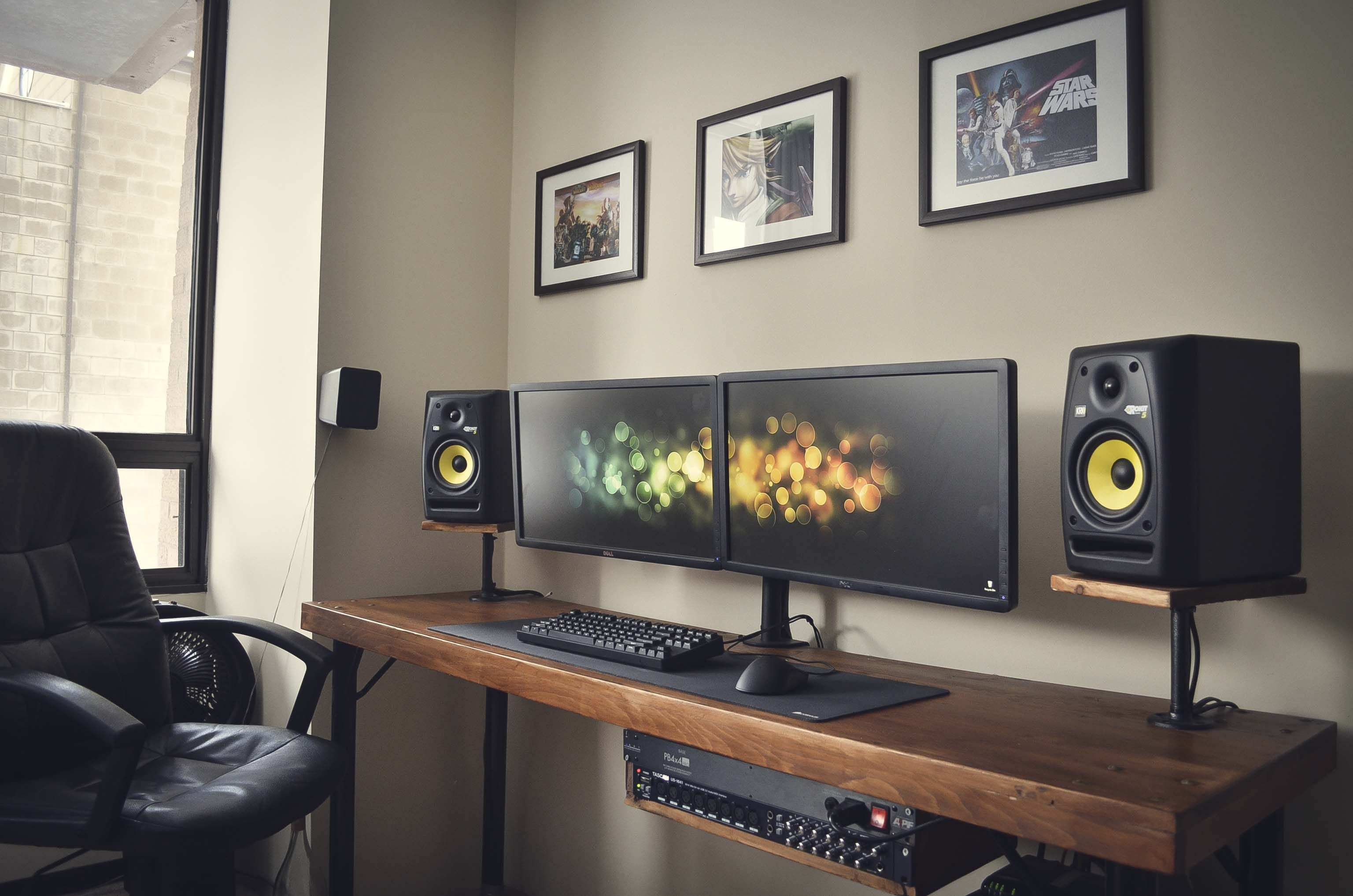 Diy Desk Amp Battlestation Battle Stations Pinterest