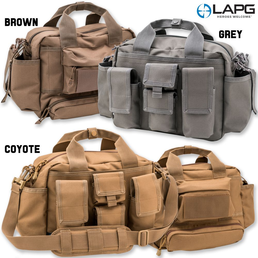 La Police Gear Tactical Bail Out Bag Now In Coyote Brown And