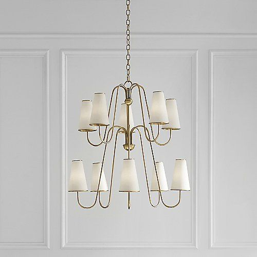 Montreuil chandelier pinterest visual comfort chandeliers and an elegant blend of traditional and minimalist lighting the montreuil chandelier by visual comfort is aloadofball Choice Image