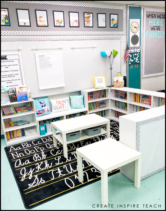 Create Inspire Teach – Classroom Makeover Reveal! – Create Inspire Teach #classroomdecor