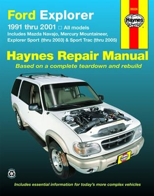Ford Explorer And Mazda Navajo Haynes Repair Manual Ford Explorer Explorer Sport Sport Trac