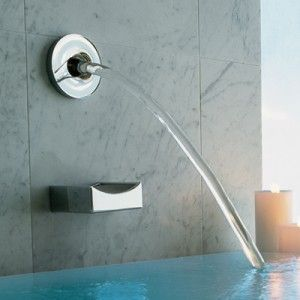 Kohler Laminar Flow Wall Or Ceiling Mounted Bath Spout 358 Polished Chrome In 2019 Kohler Tub Luxury Bathtub Plumbing Fixtures