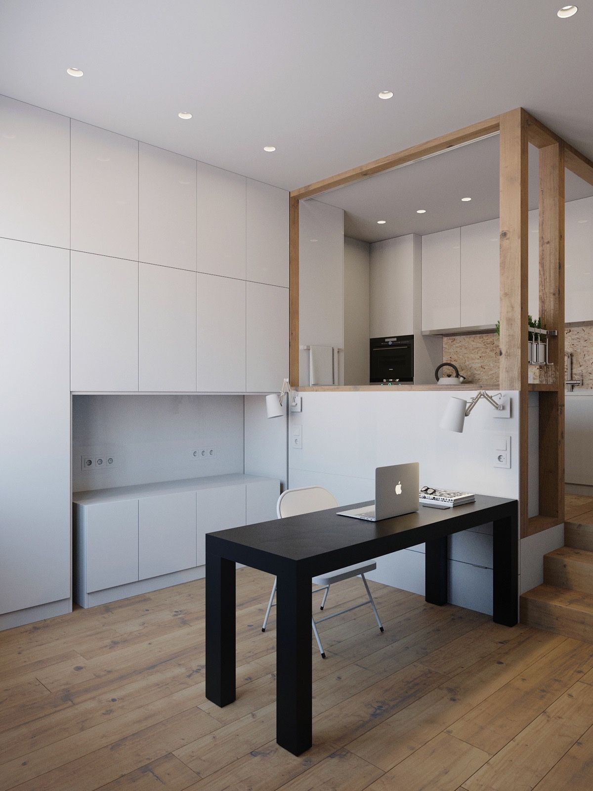 Merveilleux Not Only A Bed Header, The Reverse Of The Kitchen Sink Forms A Partition  For Different Living Spaces. Inserting A Table And Chair, The Space Becomes  An ...