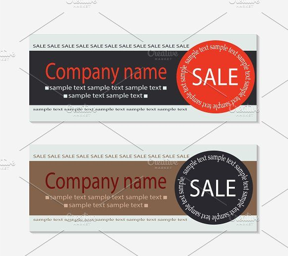 Sale voucher template by TeaGraphicDesign on @creativemarket