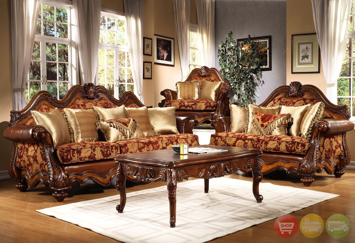 Formal Victorian Living Room Furniture   Traditional ...