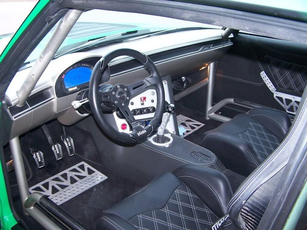 1970 Chevelle Becausess Lime Green Custom Pro Touring Interior Dash Billet Sheetmetal Floor