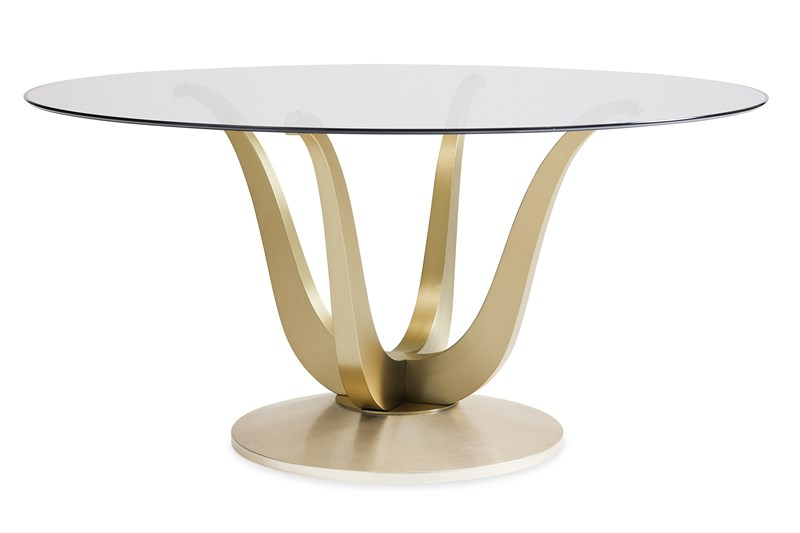 Rounding Up Caracole Dining Table Round Dining Table Round Dining