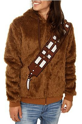 Wookie coat -- Ryan Barrett you need one of these!