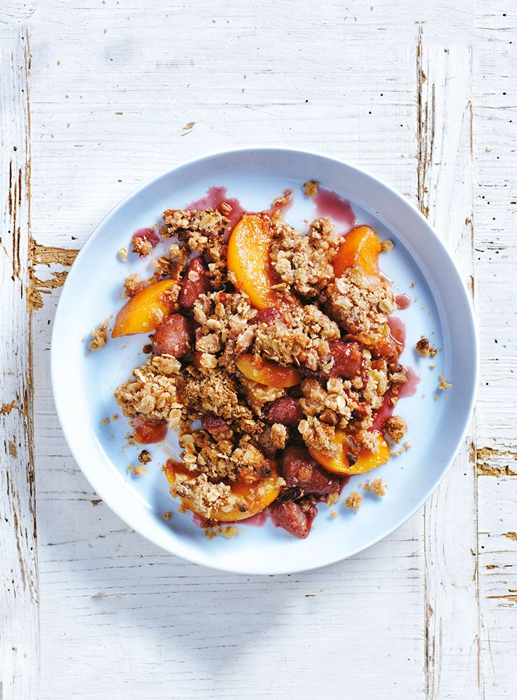apricot almond chicken 26 jun 2015 philips strawberry apricot crumble ...