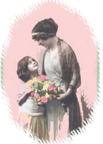 vintage card for Mom