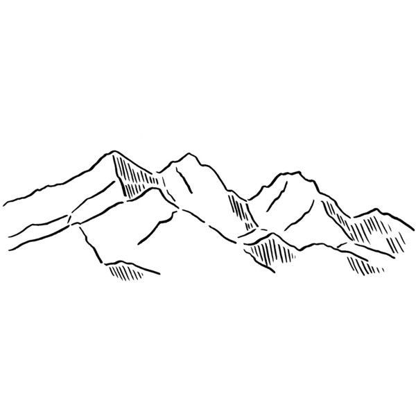 Drawing Lines Sound Effect : Line drawings of mountainmen i like pinterest
