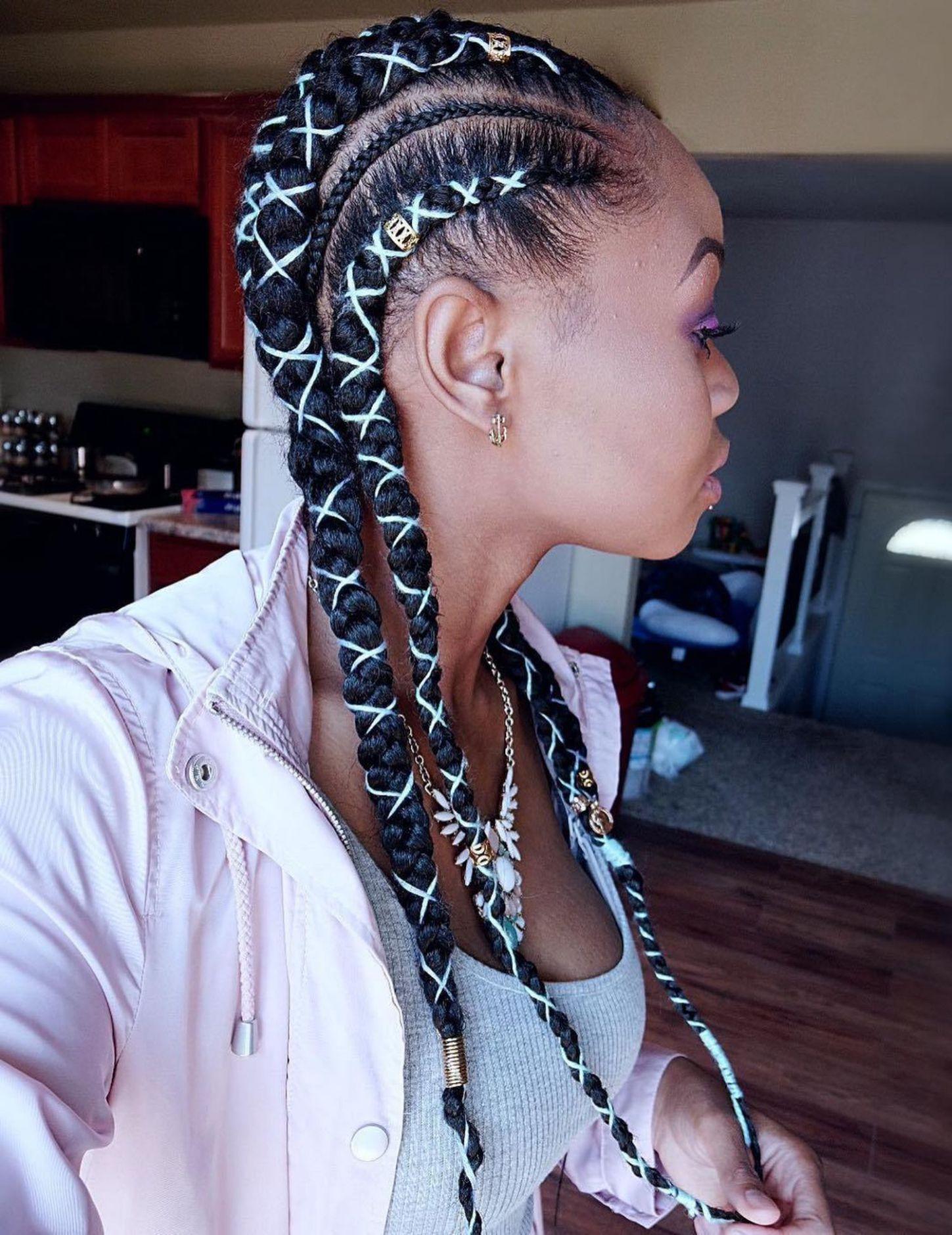 inspiring examples of goddess braids in hair pinterest