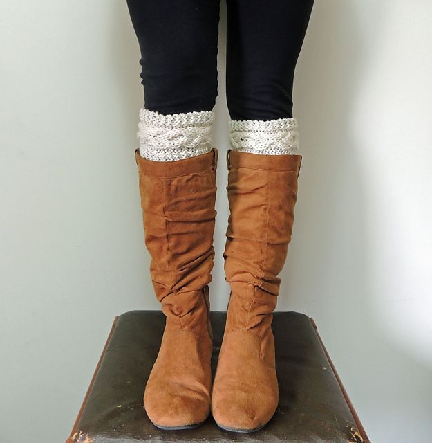 Ravelry: XOXO Cable Boot Cuffs pattern by Mindy Lewis ...