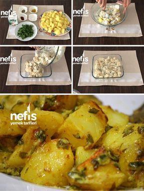 Balık Yanına Kremalı Patates - Nefis Yemek Tarifleri
