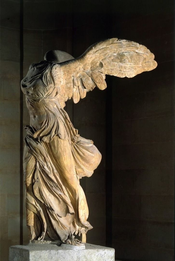"""Winged Nike(Victory) Of Samothrace"" c. 220-190 B.C.. """