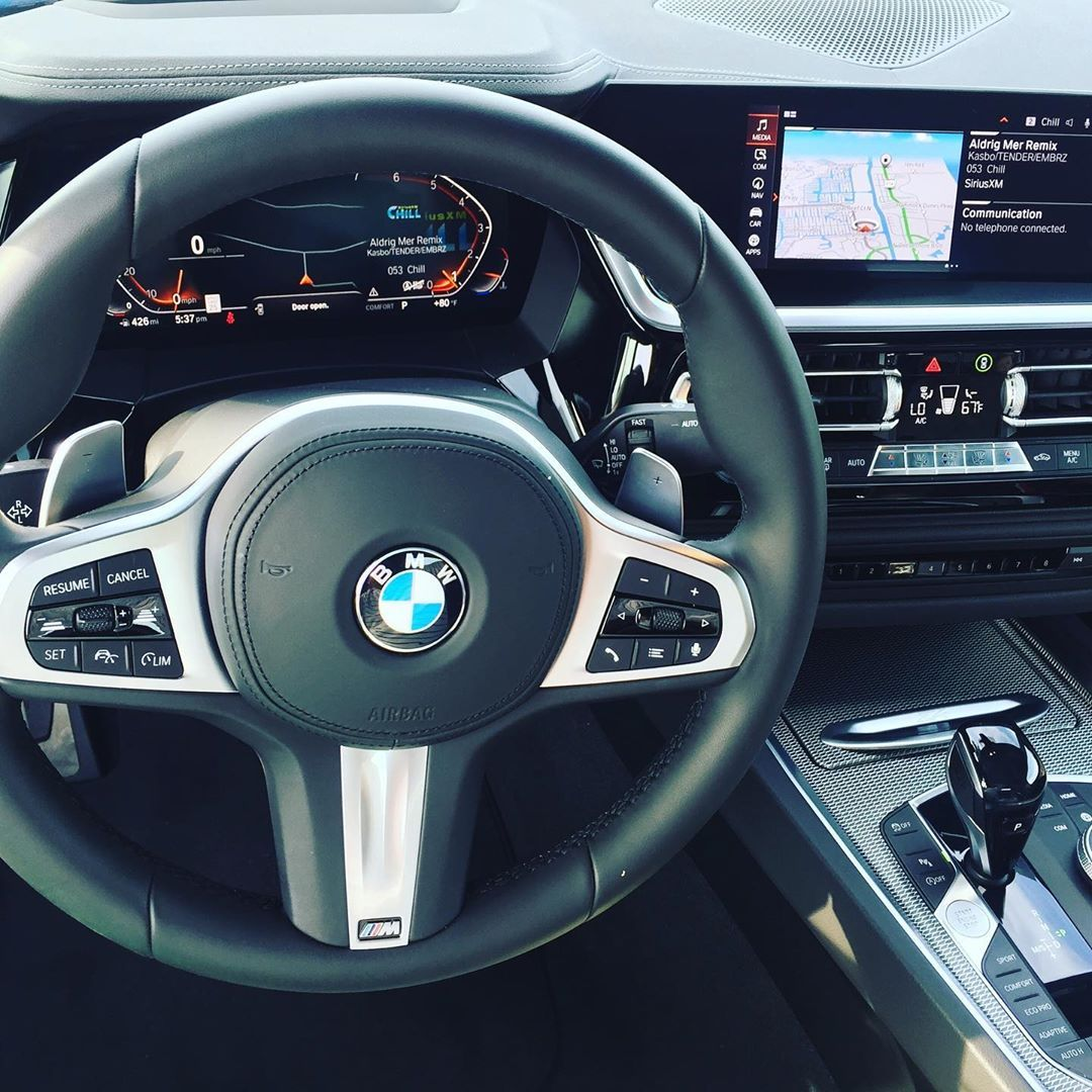 Z4 Driving The Bmwz4 Beautiful Interior Behind The Wheel Marcocarvajal Automotorpro Bmwusa In 2020 Bmw Z4 Motor Car Bmw