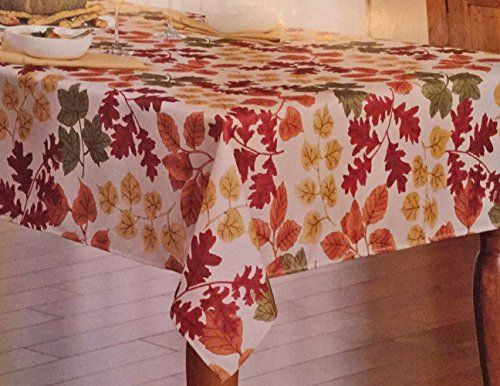 St Nicholas Square Holly Berry Fabric Christmas Tablecloth 60 x 102 Oblong