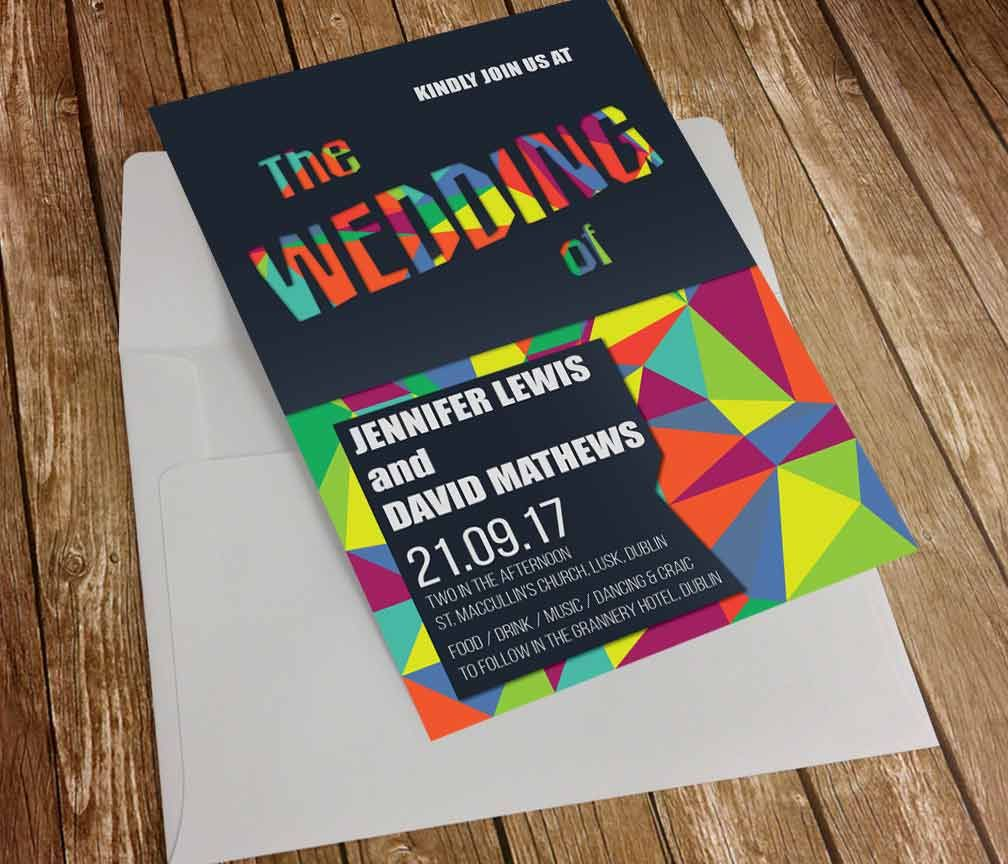 Music Festival Style Our Wedding Invitations Pinterest Unique
