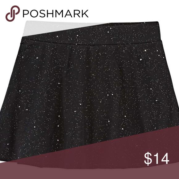 053e17d7a89 Total Girl Jersey Skater Skirt Skort Black Sparkle Brand NEW ~ Total Girl Jersey  Skater Skirt   Skort for Preschool Girls ~ Black with Sparkle Design ...