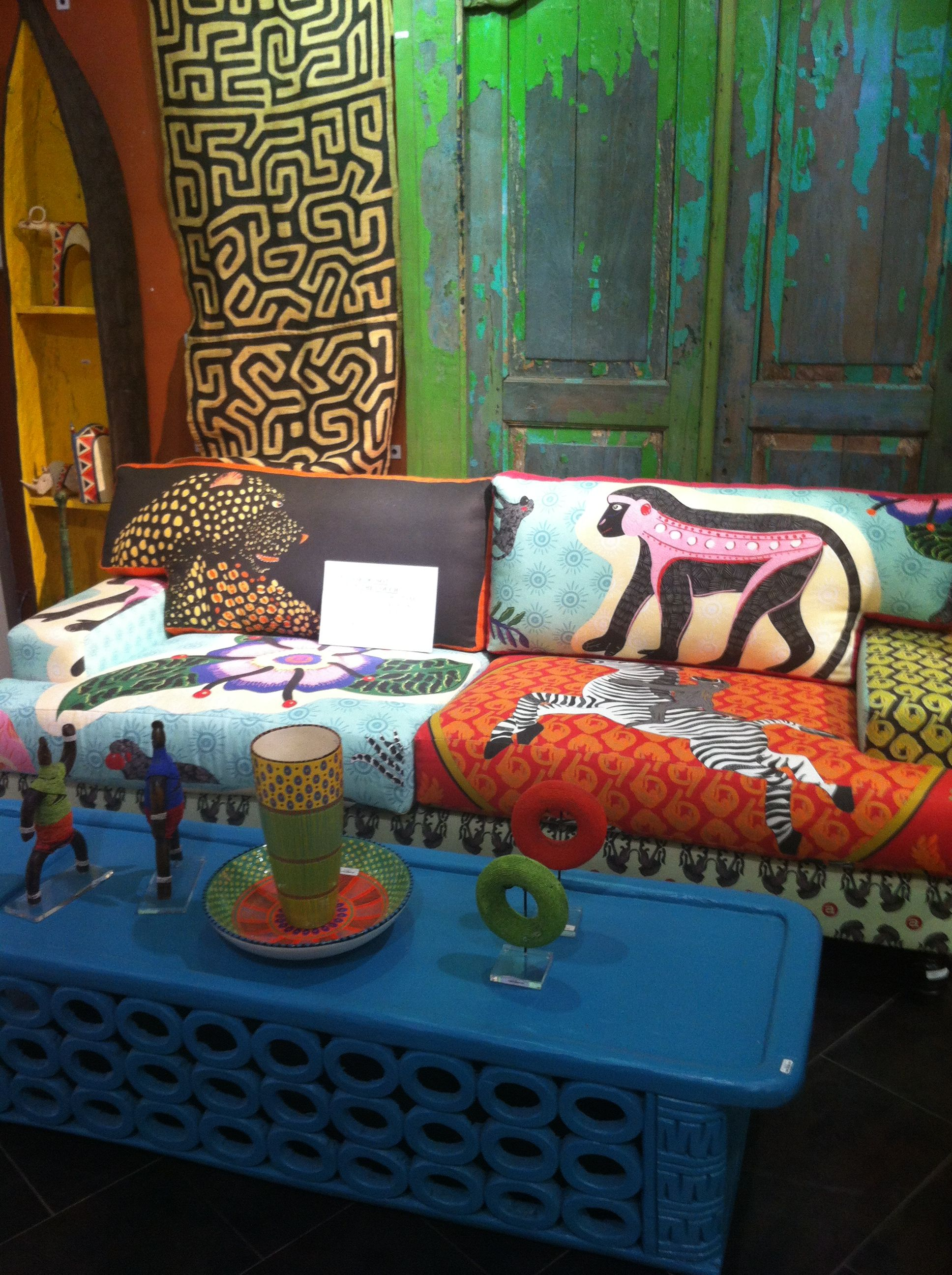 African couch | African decor, Living dining room, Decor