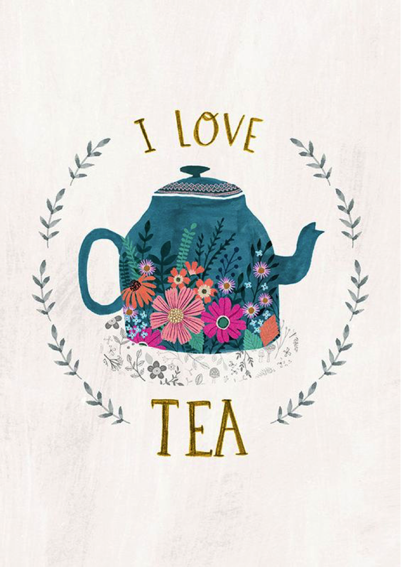 Tea Love…. Image Credit loveprintstudio tea tealovers