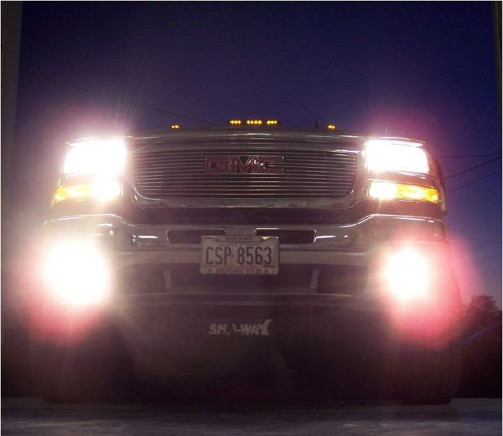 03 06 Chevy Gmc High Beam Fog Drl Conversion Kit Mrtaillight Com Online Store High Beam Gmc Beams