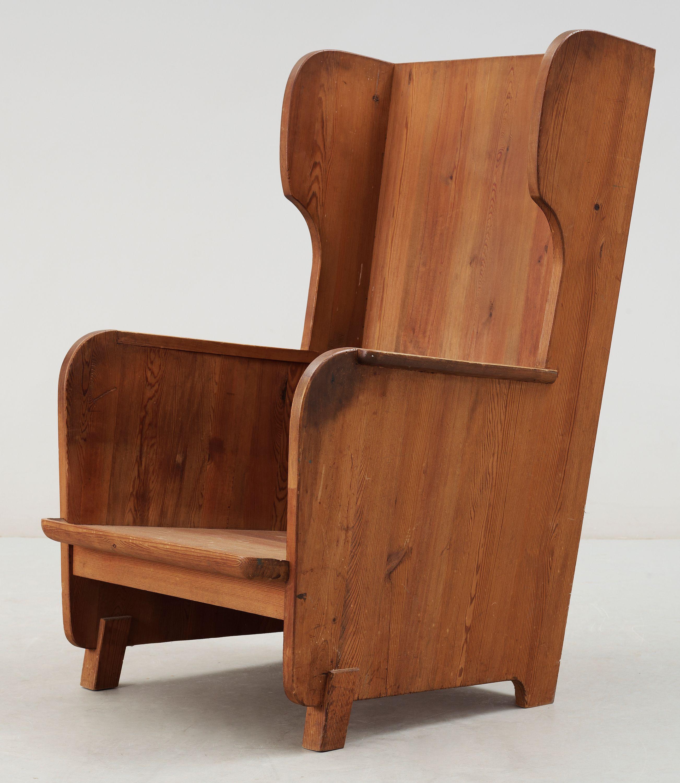 Axel einar hjorth lovö armchair 1930s