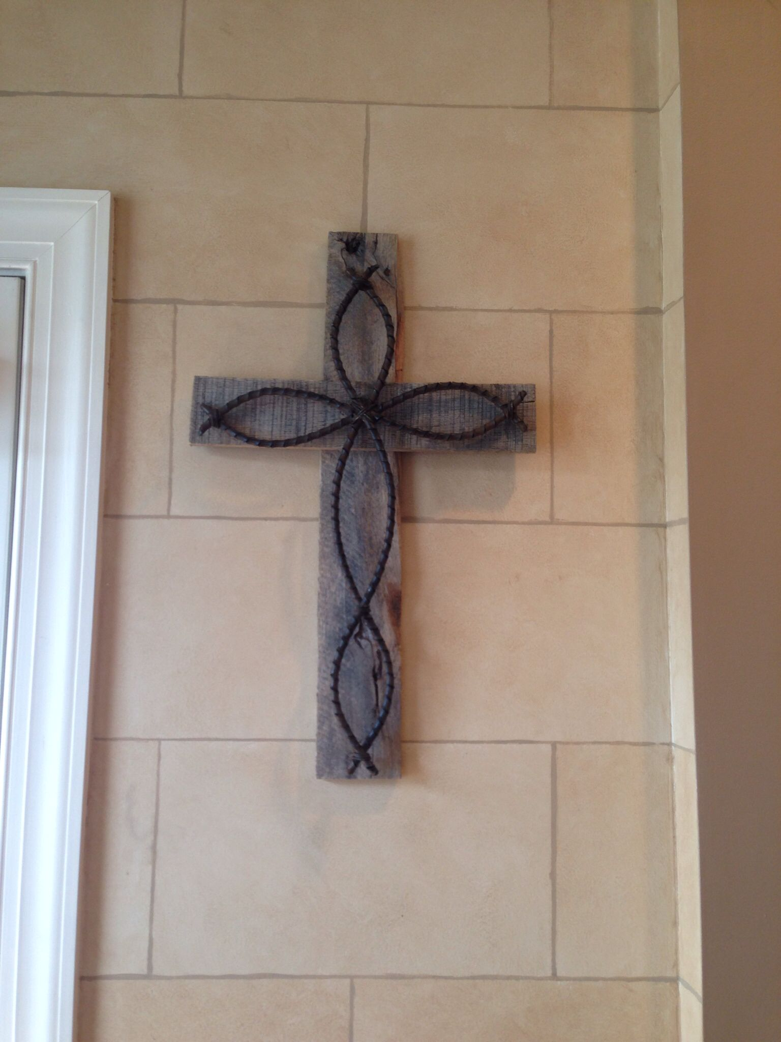 Another fun cross I made for a client!