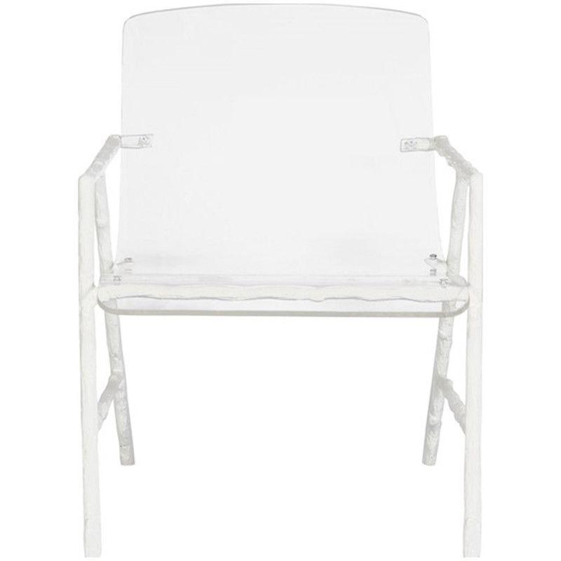 Vanguard Furniture Dillard Metal And Acrylic Chair