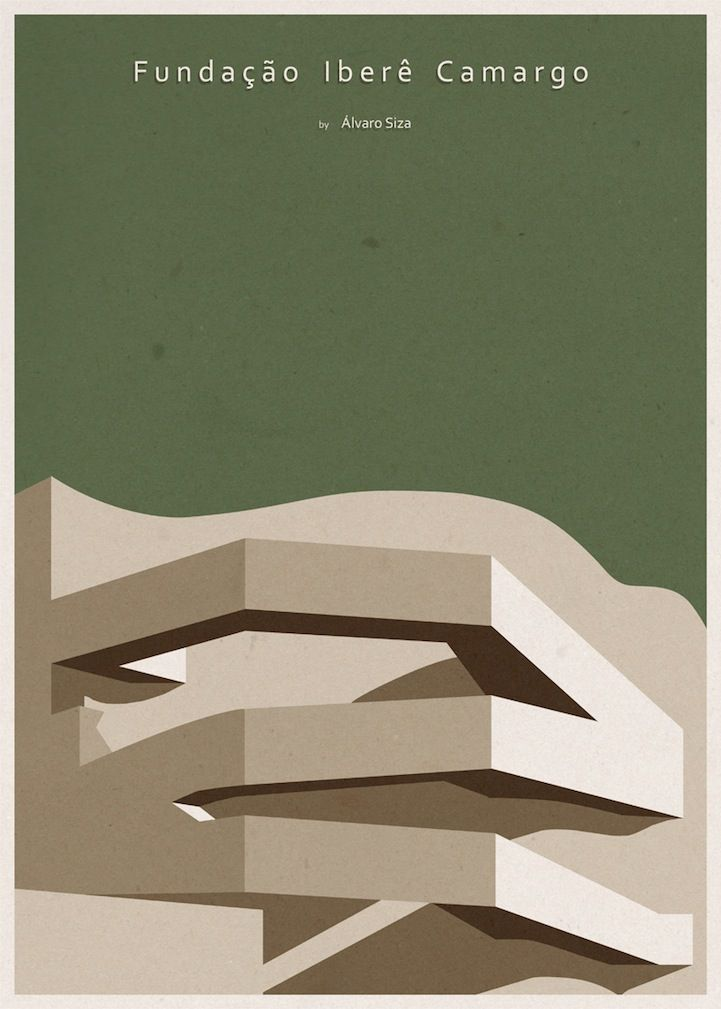 Minimalist architecture posters by andre chiote for Minimalist architecture characteristics