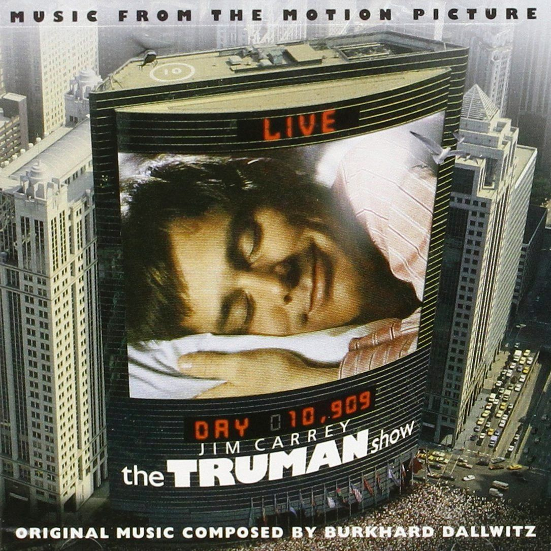 The Truman Show Movie Soundtrack 1998 The Truman Show Jim Carrey Truman