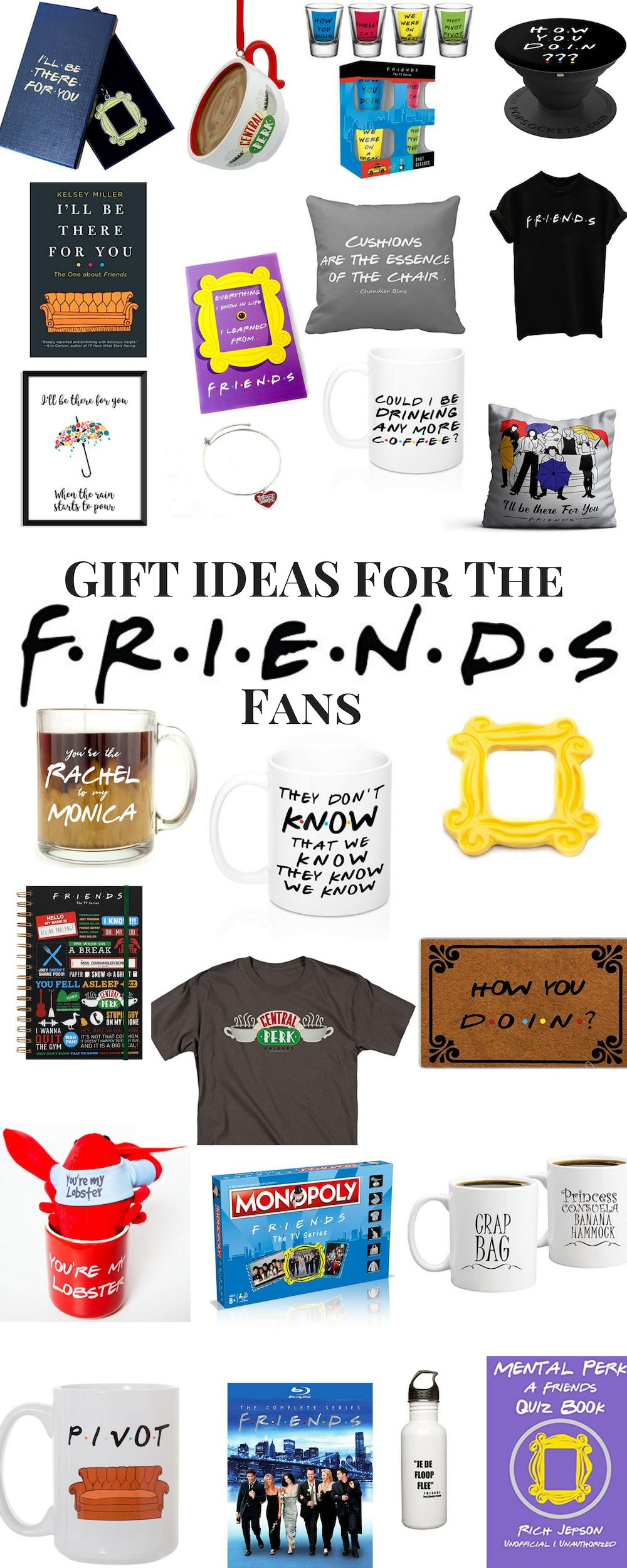 The Ultimate Girlie Girl S Gift Guide Ourkindofcrazy Com Friends Tv Show Gifts Thoughtful Gifts For Him Diy Gifts For Him