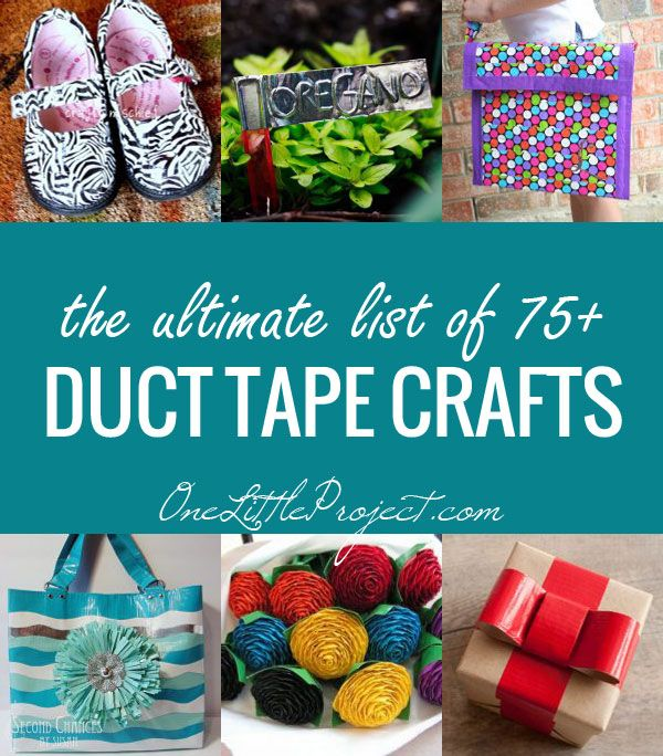 Duct tape on pinterest duct tape wallets duct tape for Duct tape craft projects