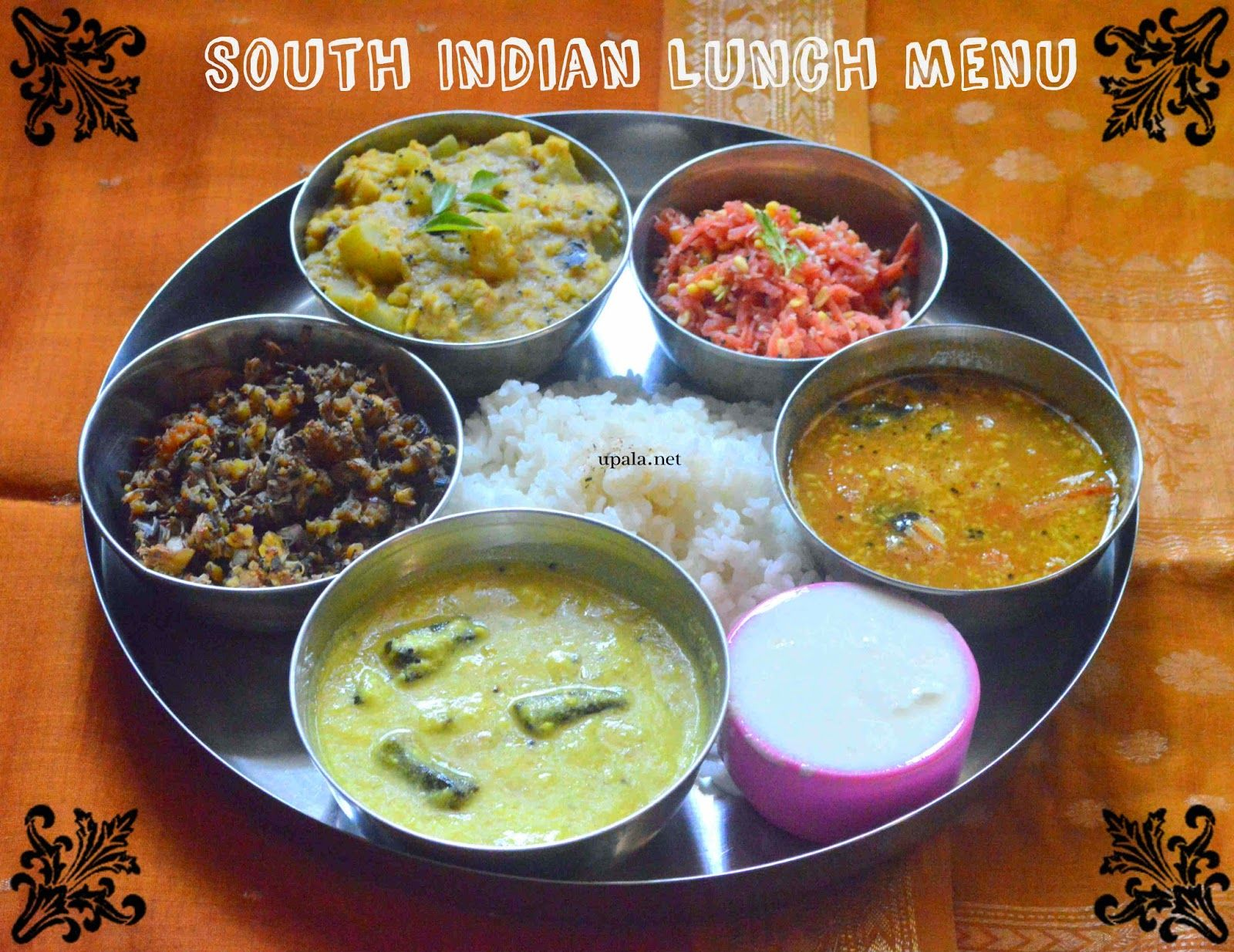 South Indian Lunch menu1
