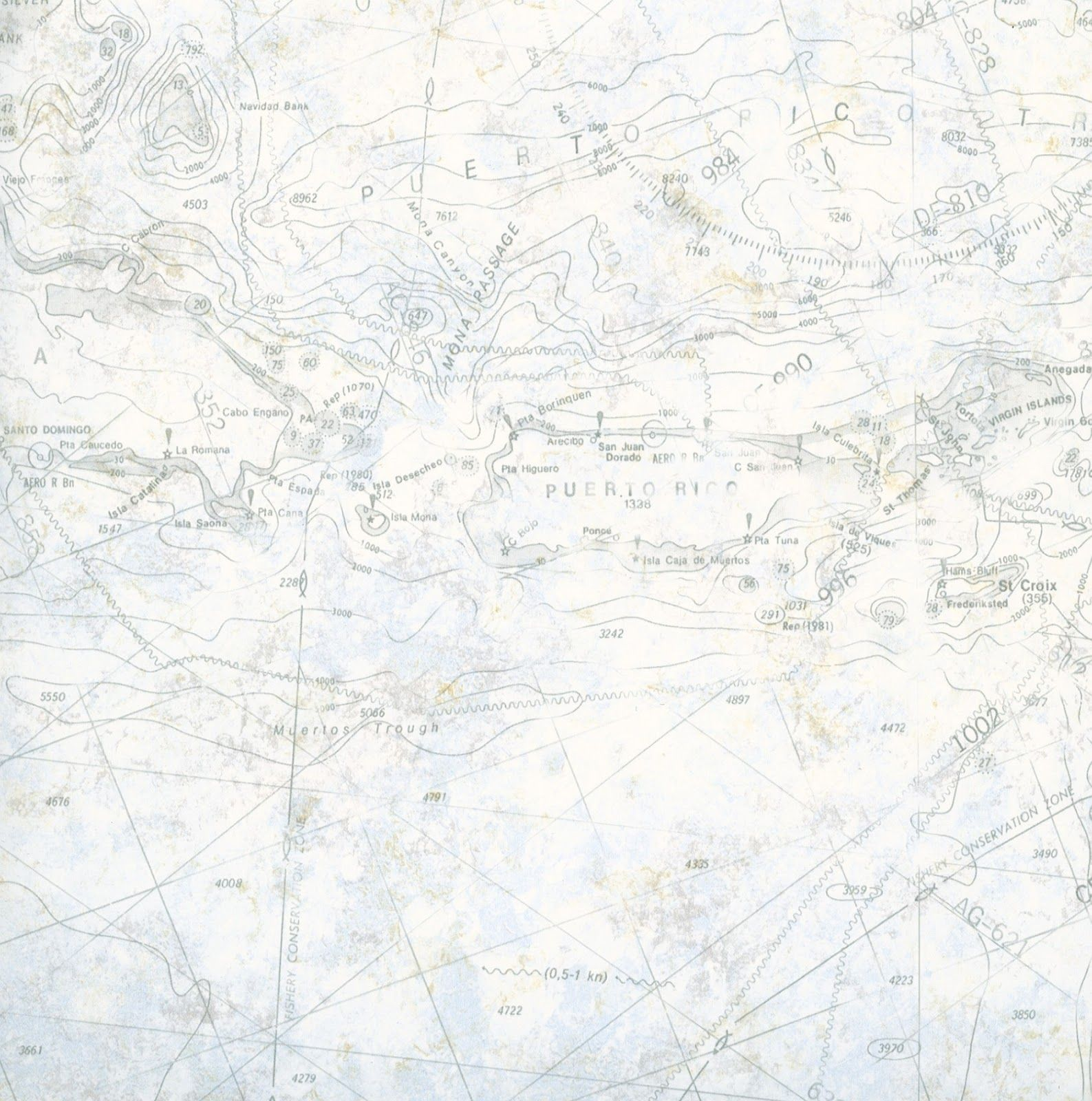 Light Blue Nautical Map Wallpaper From Coastal Waters Vol 2 By Warner Wallcoverings Blog Post