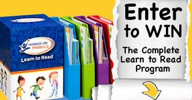 Enter For A Chance To Win A Hooked On Phonics Complete Learn To