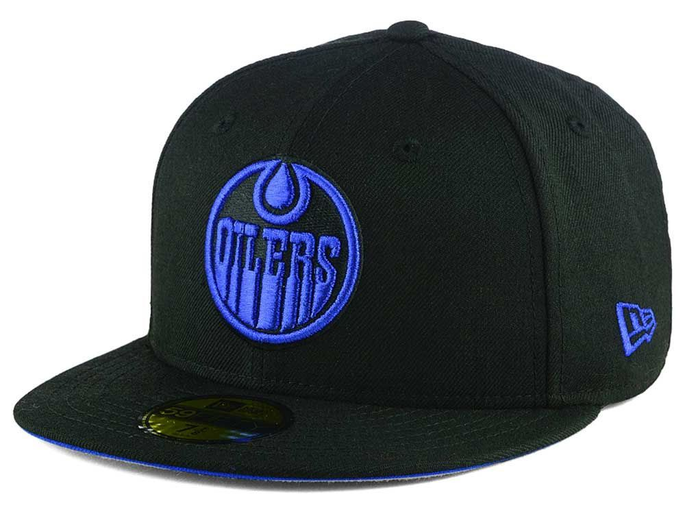 Edmonton Oilers New Era Nhl 59fifty Cap Edmonton Oilers Oilers Edmonton