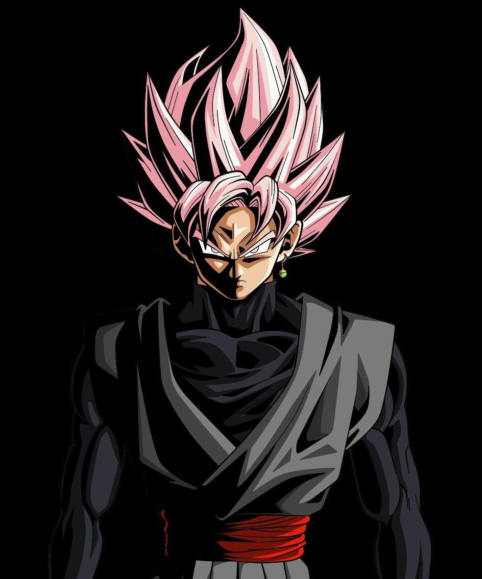 black goku Dragon ball super art, Dragon ball goku, Goku