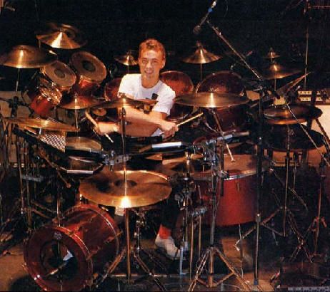 Explore The Tama Drum Kit Neil Peart Used To Record And Tour Power Windows