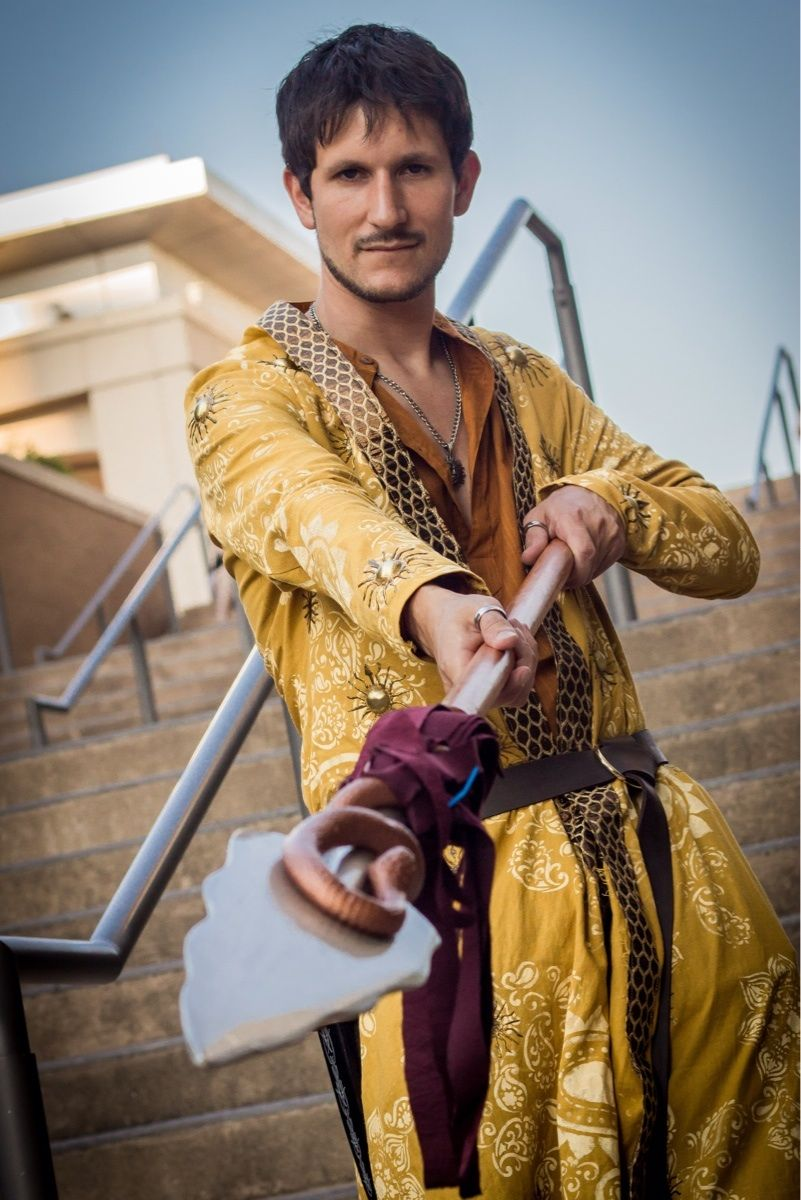 [No Spoilers] my Oberyn cosplay at Connecticon Game of