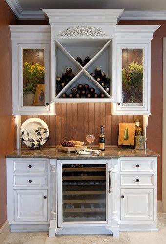 Wine storage center traditional wine cellar other metro by kitchens unlimited karen - Kitchen designs unlimited ...