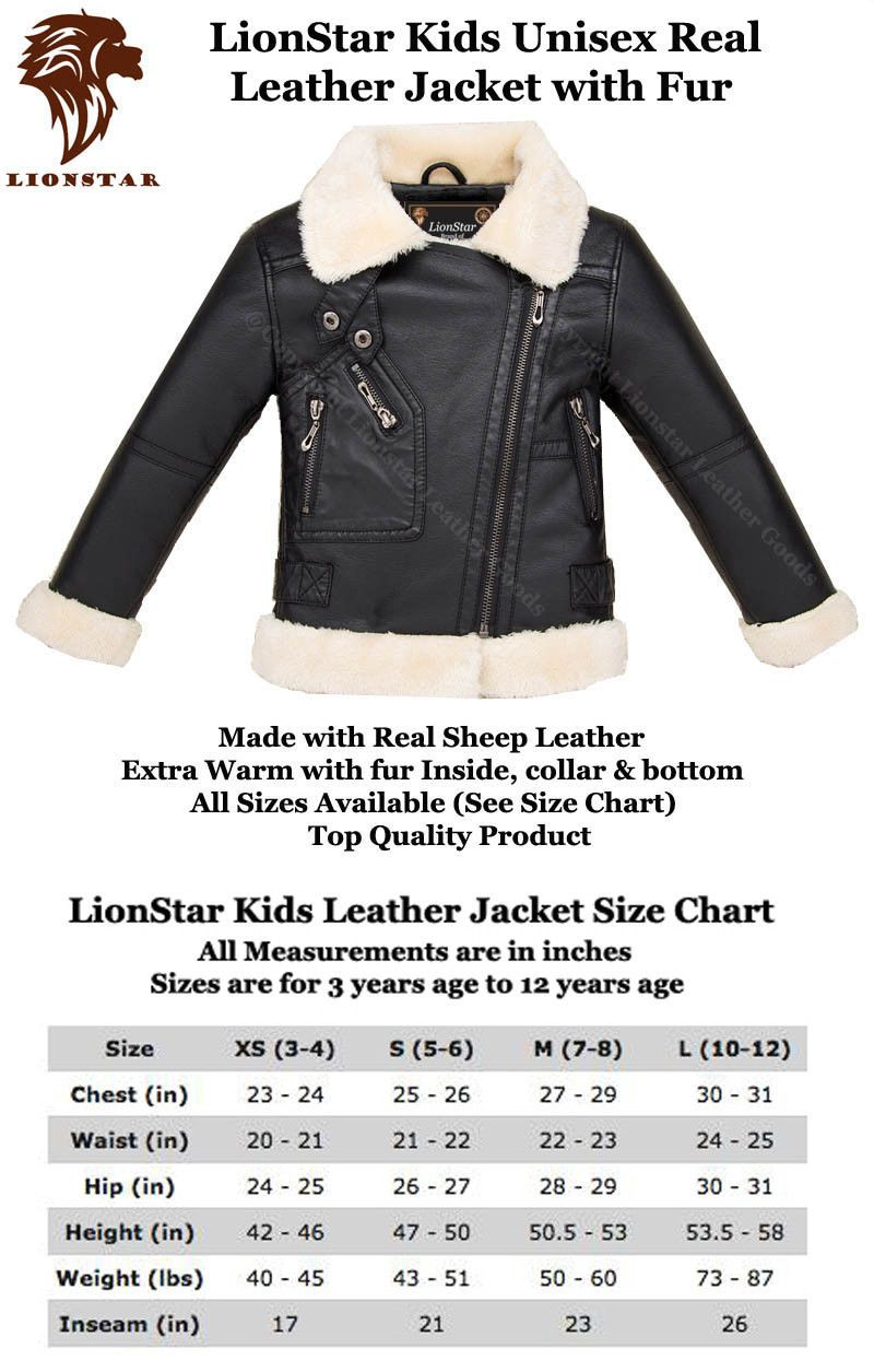 55968c7b62d2 Outerwear Coats and Jackets 182031  Lionstar Unisex Kids Top Quality ...