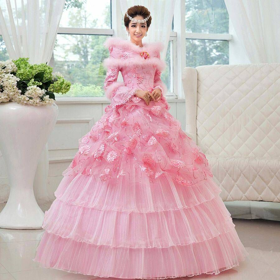 Jual Gaun Pengantin Muslim Dapur Aisy Gauns Pink Wedding